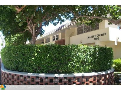 Pompano Beach Condo/Townhouse For Sale: 2800 NE 14th Street Cswy #206