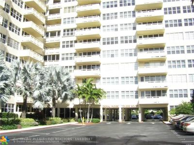 Fort Lauderdale Condo/Townhouse For Sale: 3333 NE 34th St #812