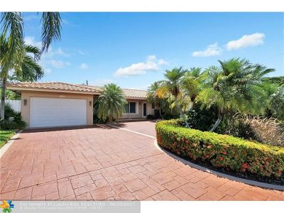 Fort Lauderdale Single Family Home For Sale: 4100 NE 26th Ave