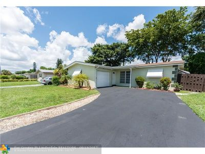 Broward County Single Family Home For Sale: 8551 NW 28th St