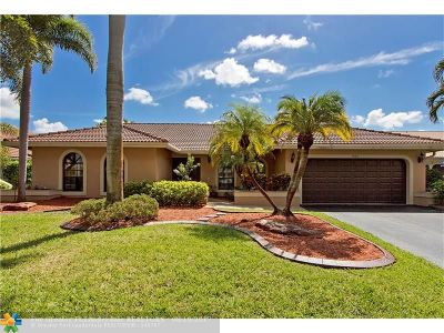 Coral Springs Single Family Home For Sale: 4865 NW 97th Dr