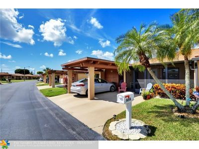 Delray Beach Condo/Townhouse For Sale: 6698 Moonlit Dr #6698