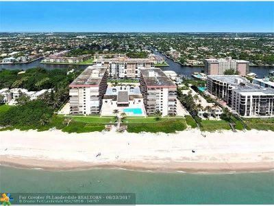 Hillsboro Beach Condo/Townhouse For Sale: 1147 Hillsboro Mile #114