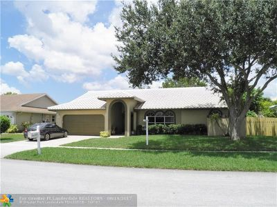 Weston Single Family Home For Sale: 16910 SW 5th Ct