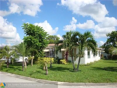 Broward County Single Family Home For Sale: 7215 NW 8th Ct