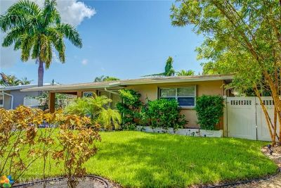 Wilton Manors Single Family Home For Sale: 2800 NE 9th Ter