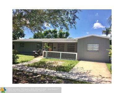 North Miami Beach Single Family Home For Sale: 16590 NE 11th Ave