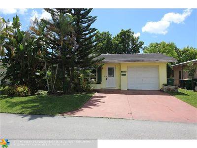 Tamarac Single Family Home Backup Contract-Call LA: 4932 NW 48th Ave