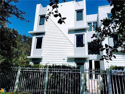 Fort Lauderdale Condo/Townhouse For Sale: 306 NE 8th Av #5
