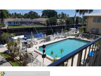 Fort Lauderdale Condo/Townhouse For Sale: 2811 NE 51st St #11 (3-B)