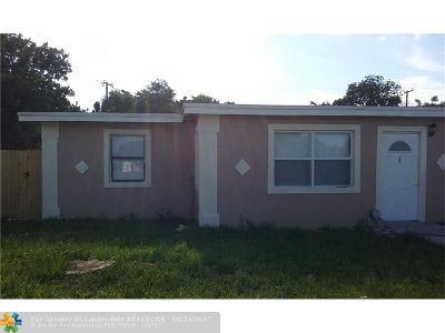 Delray Beach Single Family Home For Sale: 230 SW SW 14th Ave