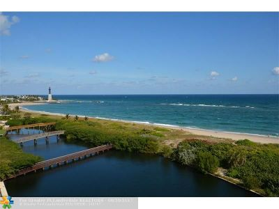Pompano Beach Condo/Townhouse For Sale: 1630 N Ocean Blvd #414
