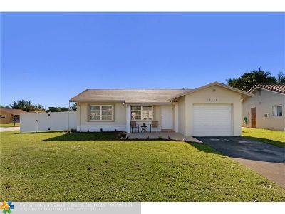 Tamarac Single Family Home Backup Contract-Call LA: 8206 NW 92nd Ter
