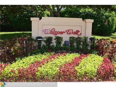 Boca Raton Condo/Townhouse For Sale: 8281 S Springtree Rd #8281