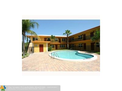 Fort Lauderdale Condo/Townhouse For Sale: 660 NE 11th Ave #102
