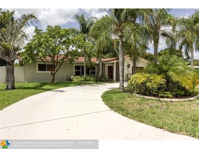 Deerfield Beach Single Family Home For Sale: 908 SE 12th St