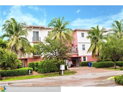 Pompano Beach Condo/Townhouse For Sale: 3213 NE 5th St #101
