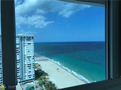 Pompano Beach Condo/Townhouse For Sale: 1360 S Ocean Blvd #2308