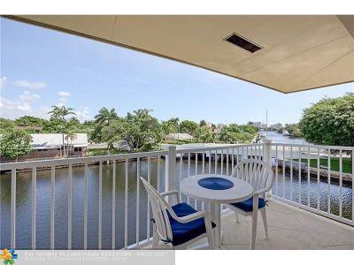 Fort Lauderdale Condo/Townhouse For Sale: 535 Hendricks Isle #309