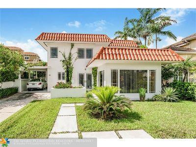 Fort Lauderdale Single Family Home For Sale: 3324 NE 16th St