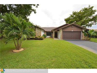 Coral Springs Single Family Home For Sale: 287 NW 107th Ter