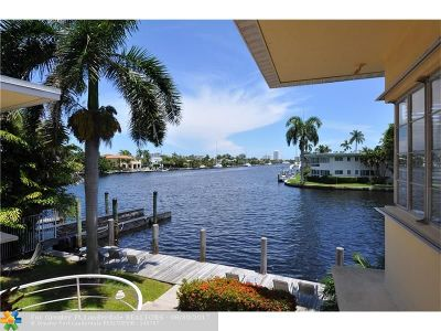 Fort Lauderdale Condo/Townhouse For Sale: 508 Hendricks Isle #12