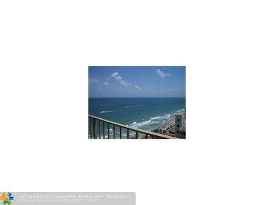 Rental For Rent: 4100 Galt Ocean Dr #1706