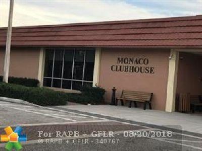 Delray Beach Condo/Townhouse For Sale: 299 Monaco G #299G