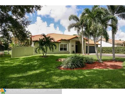 Plantation Single Family Home For Sale: 12000 NW 24th St