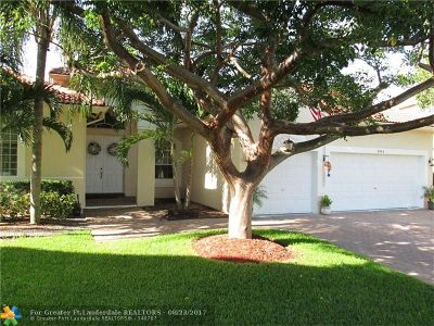 Coral Springs Single Family Home For Sale: 4964 NW 58th Ave