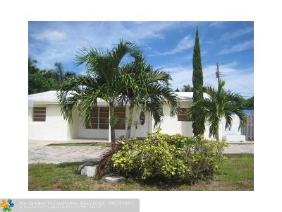 Pompano Beach Single Family Home For Sale: 3250 NE 9th Ter