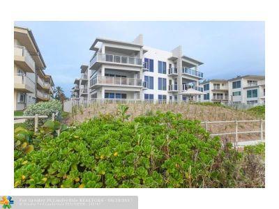 Hillsboro Beach Condo/Townhouse For Sale: 1200 Hillsboro Mile #1304