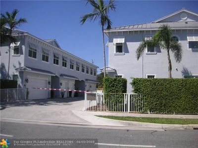 Pompano Beach Condo/Townhouse For Sale: 13 NE 20th Ave #13