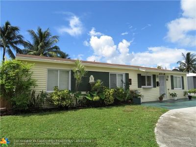 Fort Lauderdale Single Family Home For Sale: 4716 N Peters Rd