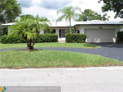 Coral Springs Single Family Home For Sale: 1826 NW 85th Dr