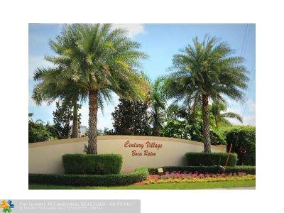 Boca Raton Condo/Townhouse For Sale: 254 Preston G #254