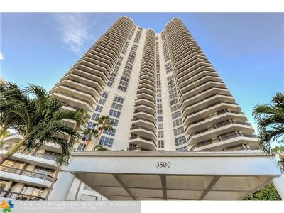 Aventura Condo/Townhouse For Sale: 3500 Mystic Pointe Dr #307