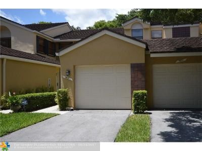 Plantation Condo/Townhouse For Sale: 9875 NW 1st Ct #9875