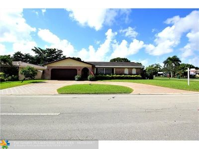 Coral Springs Single Family Home For Sale: 11786 NW 26th Ct