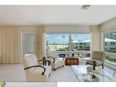 Fort Lauderdale Condo/Townhouse For Sale: 1956 S Ocean Ln #16