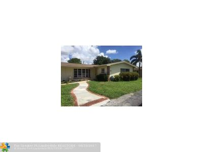 Fort Lauderdale Single Family Home For Sale: 1321 NW 46th St