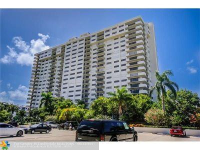 Fort Lauderdale Condo/Townhouse For Sale: 3200 Port Royale Dr #305