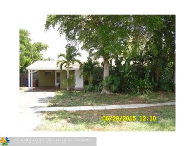 Deerfield Beach Single Family Home Backup Contract-Call LA: 1416 SW 1st Ter