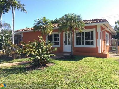 Fort Lauderdale Multi Family Home For Sale: 1208 NE 16th Ave
