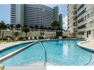 Fort Lauderdale Condo/Townhouse For Sale: 1920 S Ocean Dr #411