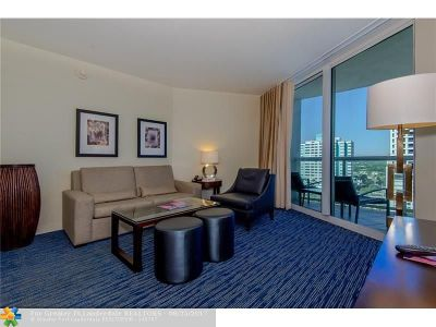 Fort Lauderdale Condo/Townhouse For Sale: 505 N Ft Lauderdale Bch Bl #1004