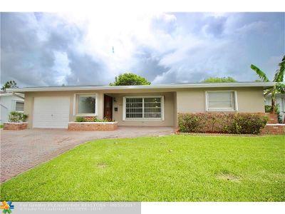 Tamarac Single Family Home For Sale: 6503 NW 58th Street