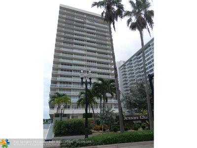 Fort Lauderdale Condo/Townhouse For Sale: 4020 Galt Ocean Dr #1105