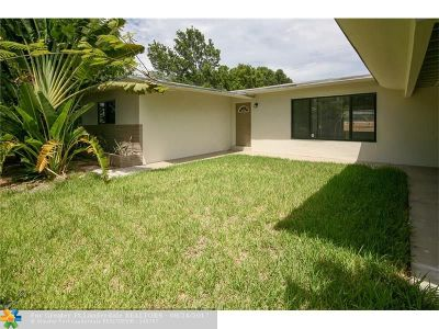 Pompano Beach Single Family Home For Sale: 640 S Cypress Road