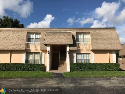Plantation Condo/Townhouse Backup Contract-Call LA: 296 NW 69th Ave #281